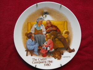 Assiette Vintage de collection 1980