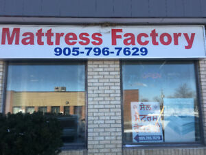 MATTRESS SALE !!  BUY DIRECT FROM THE MANUFACTURER AND SAVE BIG