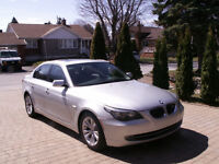 2009 BMW 5-Series 535i Berline, Tres propre, Une seule TAXE