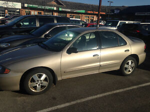 2004 Chevrolet Cavalier with REMOTE STARTER & WINTER TIRES