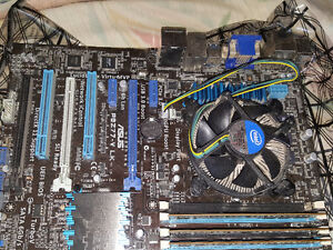 Gaming PC motherboard with Core I7