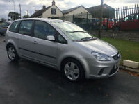 57 FORD FOCUS C-MAX 1.8 STYLE AIRCON 61000 MILES FULL MOT FRESH SERVICE