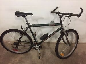 2 barely used mountain bikes