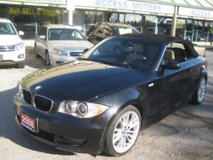 2008 BMW 128i, Low Km, CONVERTIBLE, Must Be Seen Condition