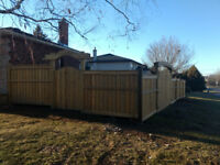 Fencing and Decking In Kitchener/Waterloo