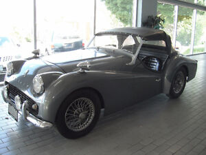 1961 Triumph TR3A, Certified and Ready to drive