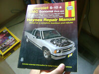 95 96 97 98 99 2000 01 02 03 04 chevy S-10 shop manual