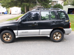 2002 Chevy tracker reduced first 600 takes its awày