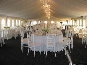 TIFFANY  AMERICANA CHAIRS MARQUEES TABLES WEDDING HIRE Sydney City Inner Sydney Preview
