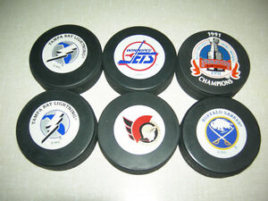 NHL Hockey Pucks