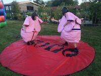 Sumo suits for the day.
