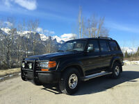 1993 Toyota Land Cruiser VX LIMITED / Sunroof / Remote start