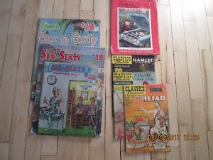 classic illustrated and sex to sexty magazines