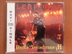 BRUCE SPRINGSTEEN LEAP OF FAITH MAXI CD SINGLE