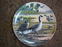 Plates Collection « Wings upon the Wind» Canadian Wildlife Feder