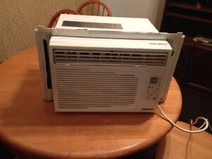 Air conditioner 5250 btu in remote blows cold