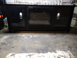 Lotus Electric Fireplace/TV Stand