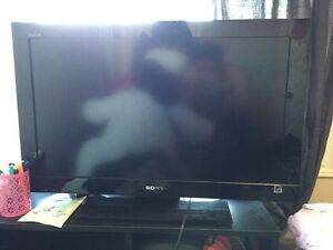 sony 1080p flat screen tv 32""