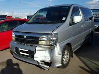 Nissan Elgrand spares or easy repair