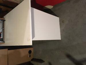 White student desk $15.00