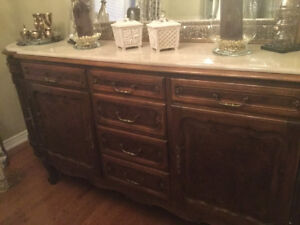 Authentic French Redwood Buffet