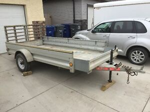 5' by 10' Galvanised Utility Trailer