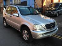 2003 Mercedes-Benz ML350 3.7 Auto 4wd 5 Doors Petrol & Lpg