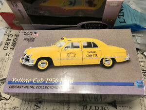 Ford taxi yellow cab 1950 précision diecast 1/18 Die cast