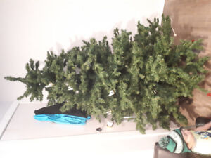 6.5 foot artificial Christmas tree