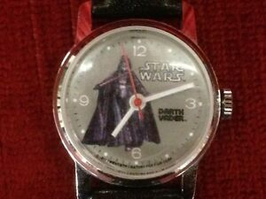 1977 Star Wars Darth Vader Wrist Watch