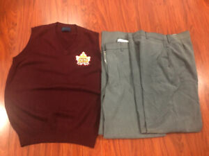 Neil McNeil vest and pants uniform
