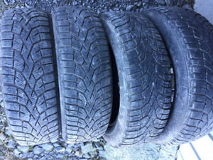 4x Hiver 175/65R15 88t XL Gislaved Norfrost 100