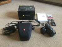 Nikon Coolpix P900 superzoom with accessories