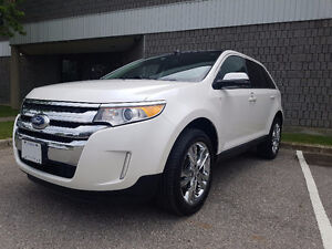 2013 Ford Edge Limited AWD, No Accidents, Low Kms, Leather, Navi