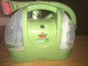 "BISSELL ""Little Green"" compact rug cleaner"