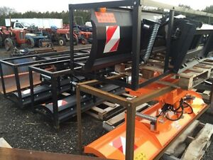 """86"""" and 96"""" Hydraulic Snow blade for Skid Steer Windsor Region Ontario image 4"""