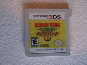 Donkey Kong Country Returns 3DS  PRIX REDUIT