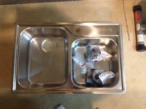 Kitchen Double Stainless steel Sink