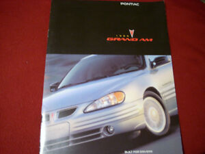 1999 Pontiac Grand Am sales brochure