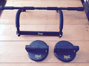 Everlast Chin up bar and Rotating Push Up Stands  - $30 OBO!
