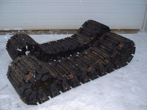 "Argo 18"" snow / mud Super Tracks with cleats 6 x 6"
