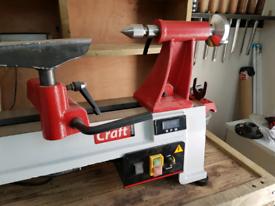 Axminster Craft AC355WL woodturning lathe.