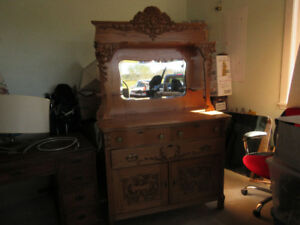 LARGE SIDEBOARD WITH MIRROR