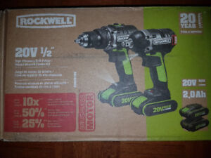 Rockwell drill and impact