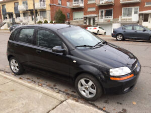 AVEO 2007, AUTOMATIC, CLIMATISE,150K KM,TRES PROPRE,