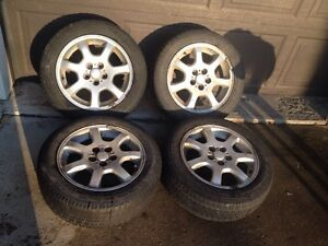 Set of 4 dodge neon aluminum rims