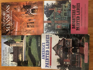 4 Victorian Mansions books