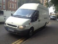 Ford transit 3.5 ton 108 on the clock,long wheel base high top