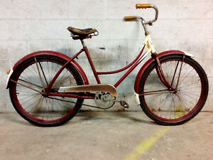 1948 SPC Step Through Bicycle - $250