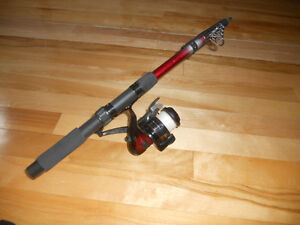 Canne moulinet de voyage, telescopic, Fishing rod and reel